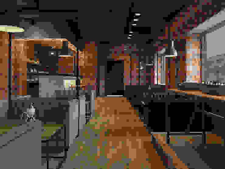 Industrial style walls & floors by AG design Industrial Granite