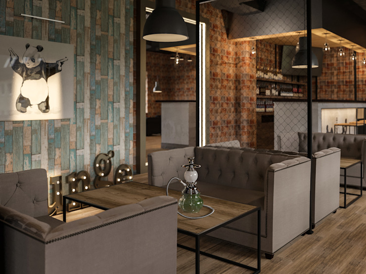 Industrial style walls & floors by AG design Industrial Concrete