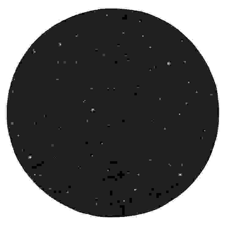 'Quadri' Luxury circular rug with glitter by Sitap de My Italian Living Moderno Yute Morado/Violeta