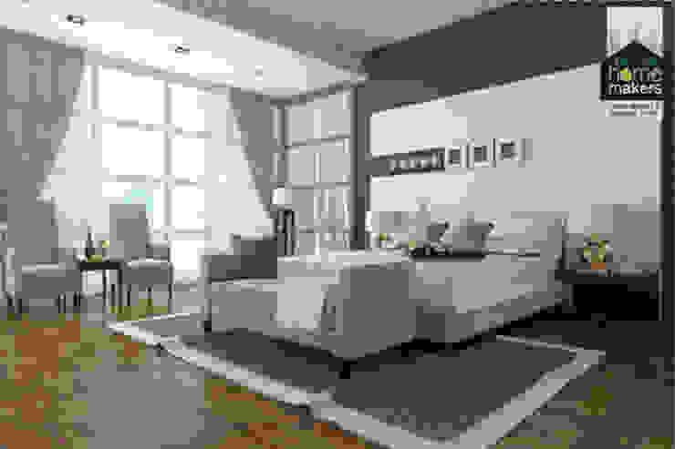 Beige Bedroom Modern style bedroom by homify Modern