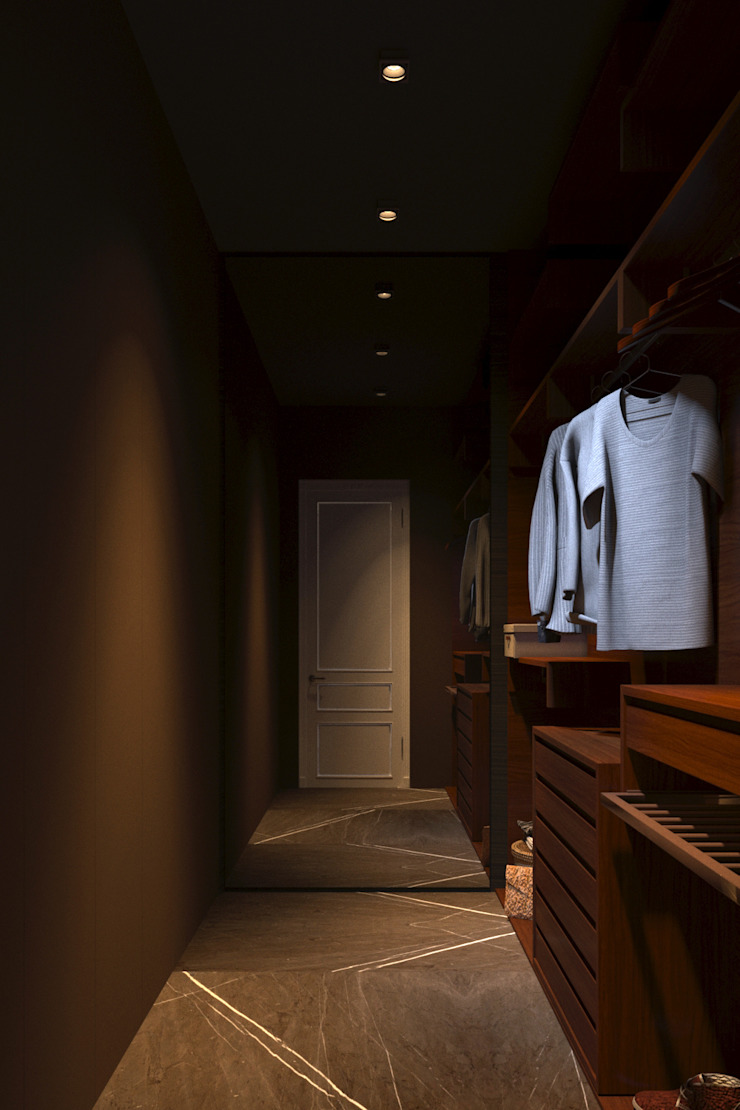 Classic style dressing room by MC Interior Classic