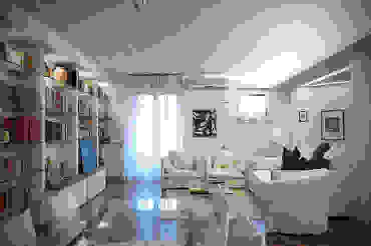 Soggiorno - White Light Soggiorno classico di Orsini Architects Classico