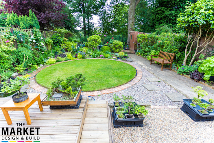 The Ruislip Side Extension Modern garden by The Market Design & Build Modern