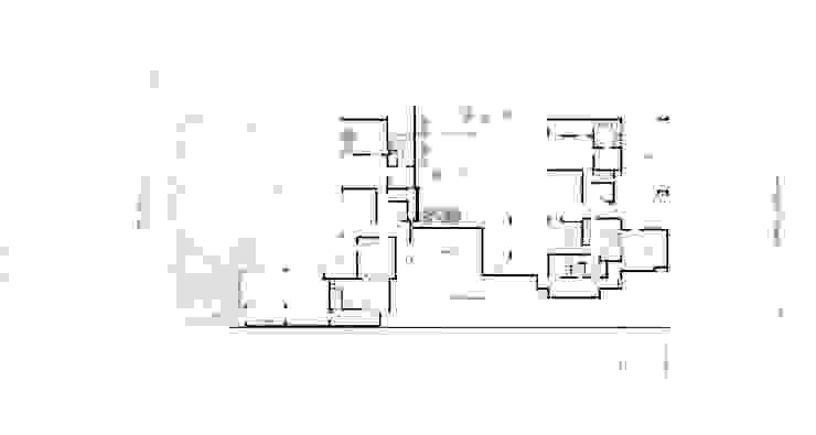 Plano conjunto Casas de estilo mediterráneo de Carvallo & Asociados Arquitectos Mediterráneo