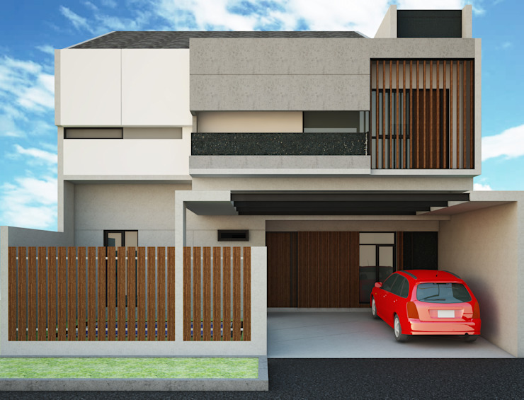 Private House BSD Oleh AGRA Architecture