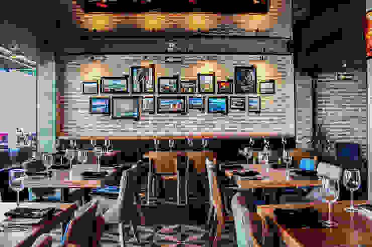 Barriquero Norte Gastronomía de estilo rústico de AG arquitectos Rústico
