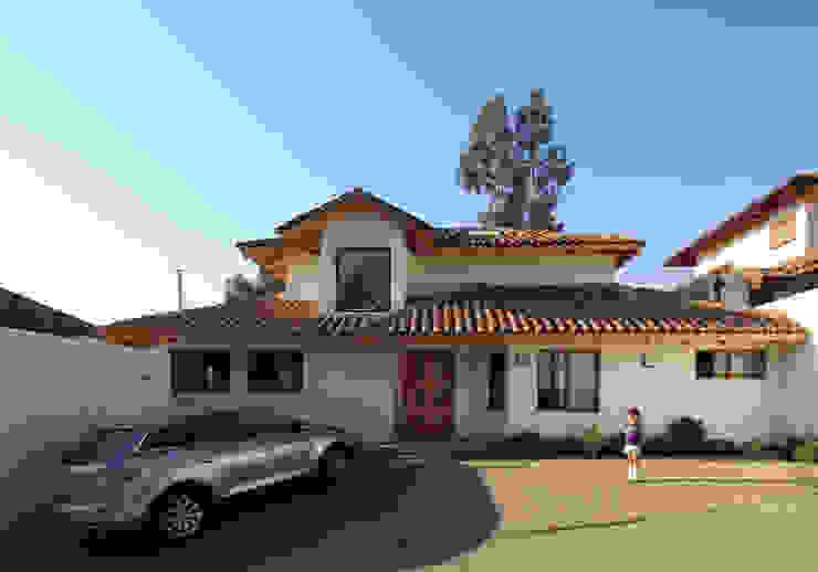 Casa B Casas de estilo colonial de Carvallo & Asociados Arquitectos Colonial