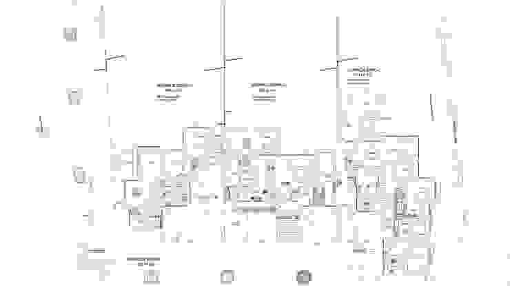 Plano Conjunto Casas de estilo colonial de Carvallo & Asociados Arquitectos Colonial