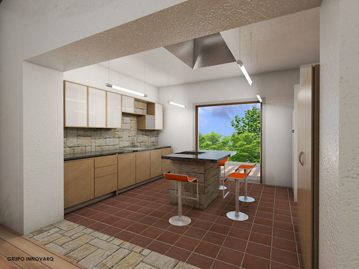 Kitchen by Grupo Inovarq, Eclectic