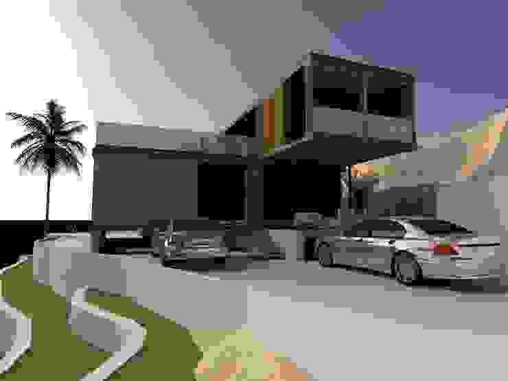 Poseidón, Pucusana, Lima Casas modernas: Ideas, diseños y decoración de MGR Moderno