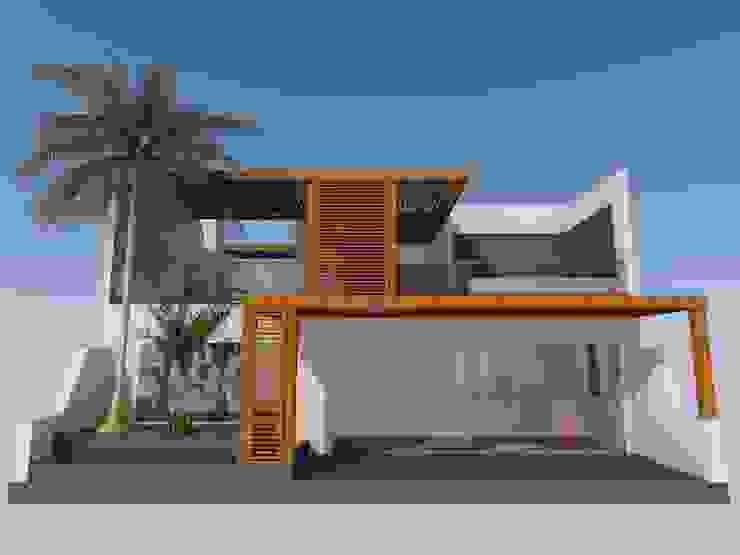 Casa de Playa, San Antonio, Cañete, Lima Casas modernas: Ideas, diseños y decoración de BIMGR Moderno