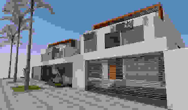 Condominio, La Alameda de La Planicie, La Molina, Lima Casas modernas: Ideas, diseños y decoración de BIMGR Moderno