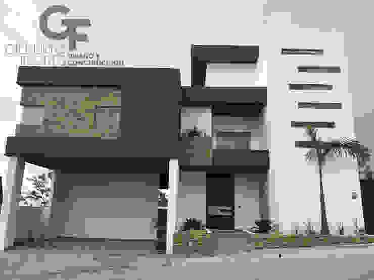 Fachada Ppal. Casas modernas de GF ARQUITECTOS Moderno