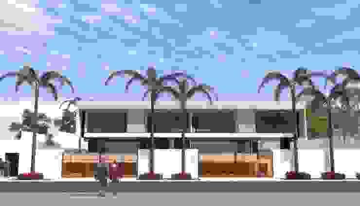 El Velero 340, Las Lagunas, La Molina, Lima Casas modernas: Ideas, diseños y decoración de BIMGR Moderno