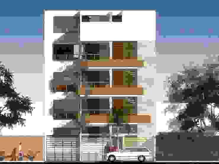 Doña Amalia 240, Surco, Lima Casas modernas: Ideas, diseños y decoración de BIMGR Moderno