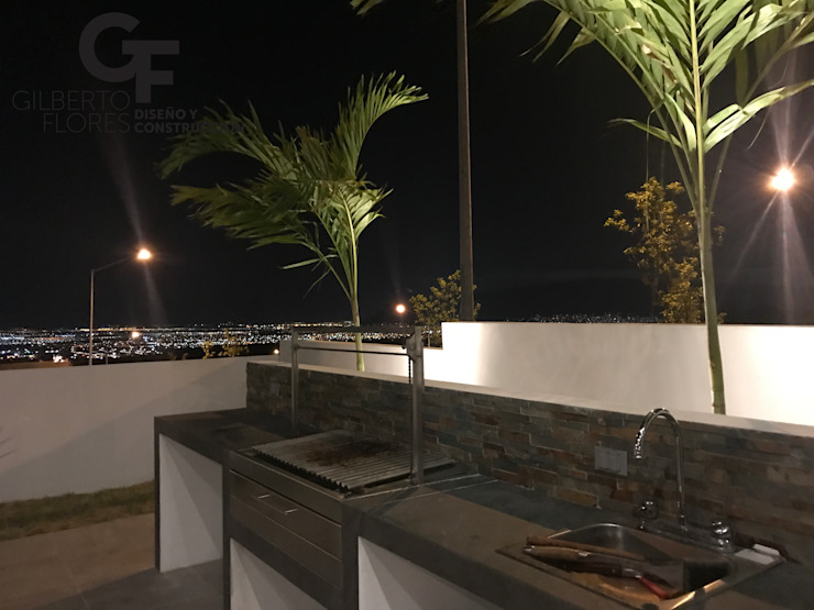 Balcon, Veranda & Terrasse modernes par GF ARQUITECTOS Moderne