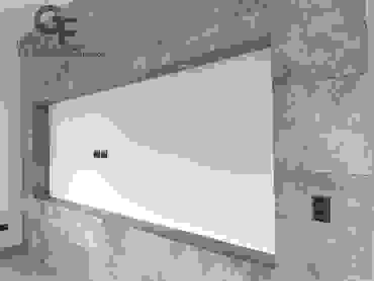 모던스타일 벽지 & 바닥 by GF ARQUITECTOS 모던 세라믹