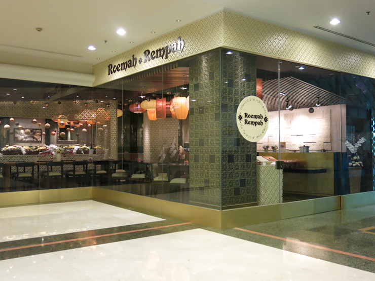 View from Outside Gastronomi Gaya Asia Oleh FerryGunawanDesigns Asia
