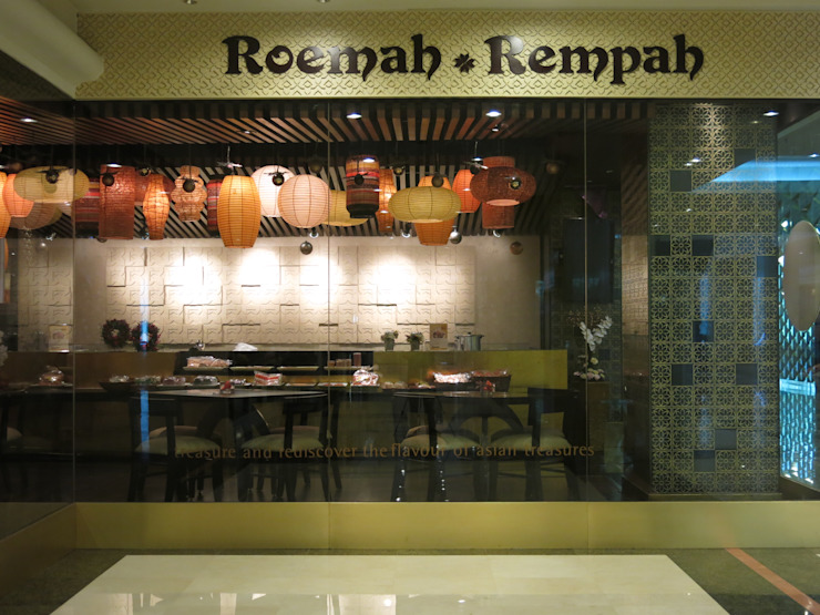 Logo and Entrance Gastronomi Gaya Asia Oleh FerryGunawanDesigns Asia