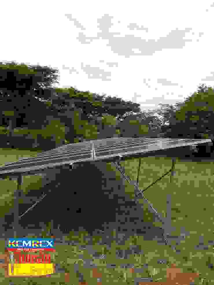 Solar cell ขนาด 9.45 kW @ อ.ปากช่อง โดย บริษัทเข็มเหล็ก จำกัด