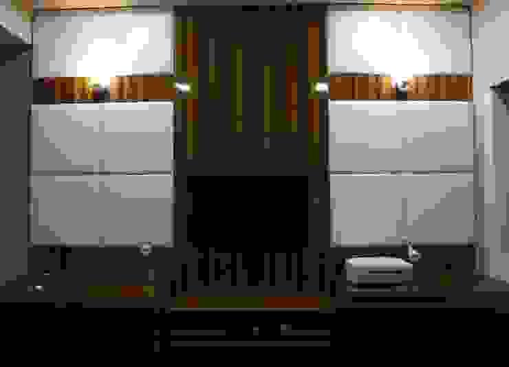 Singh Bunglow - Kalyan Modern study/office by Aesthetica Modern