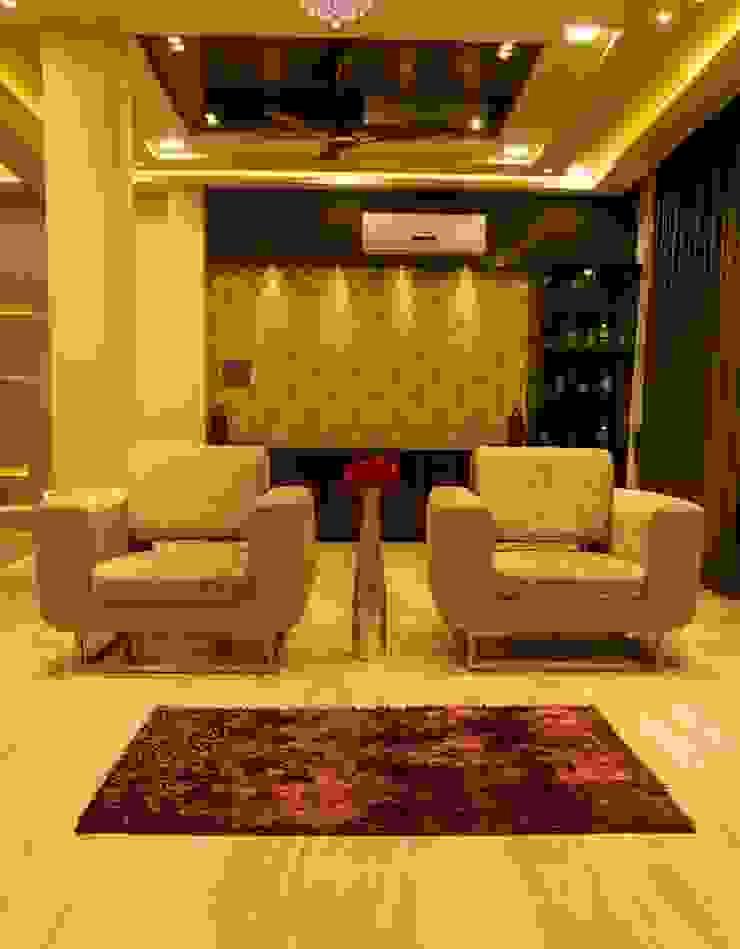 Singh Bunglow—Kalyan Modern living room by Aesthetica Modern