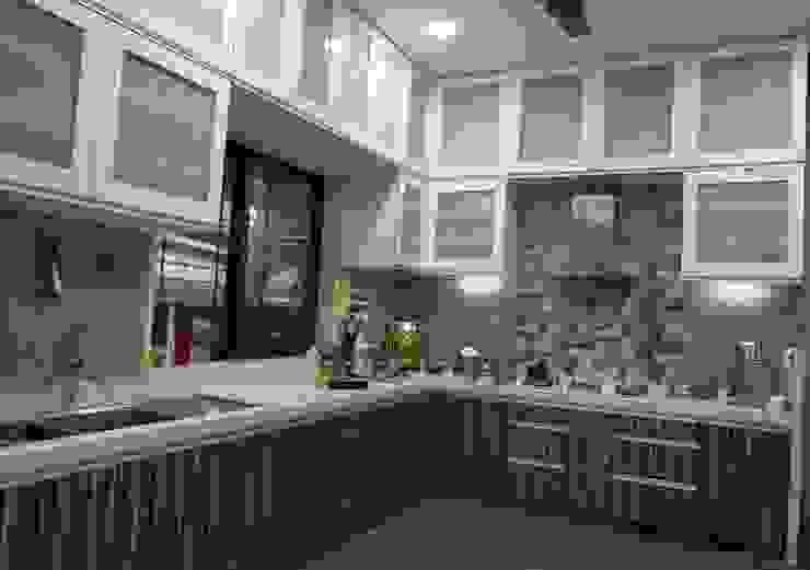 Singh Bunglow - Kalyan Modern kitchen by Aesthetica Modern