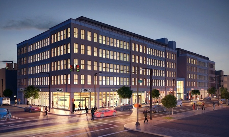 Architectural 3D Exterior Rendering from Pred Solutions Modern offices & stores by Pred Solutions Modern