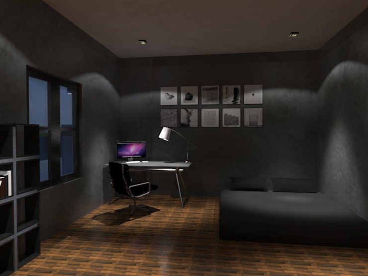 ห้องนอน โดย ออกแบบเขียนแบบ 2D-3D