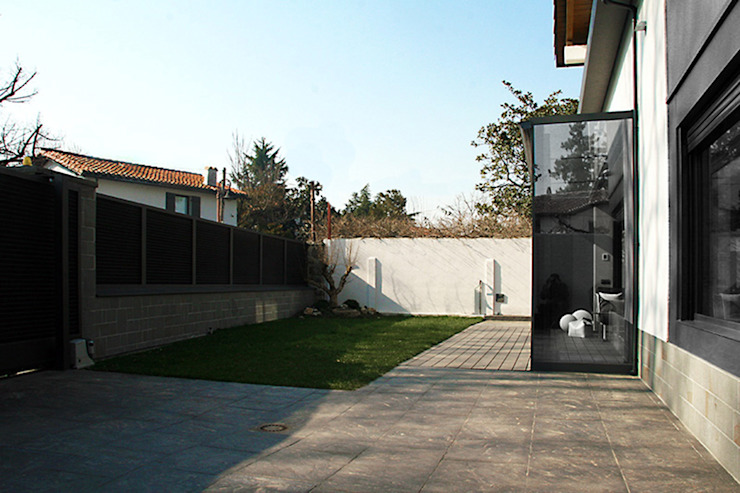 Jardin classique par Rafael Hernáez Loza AITEC Proyectos Classique