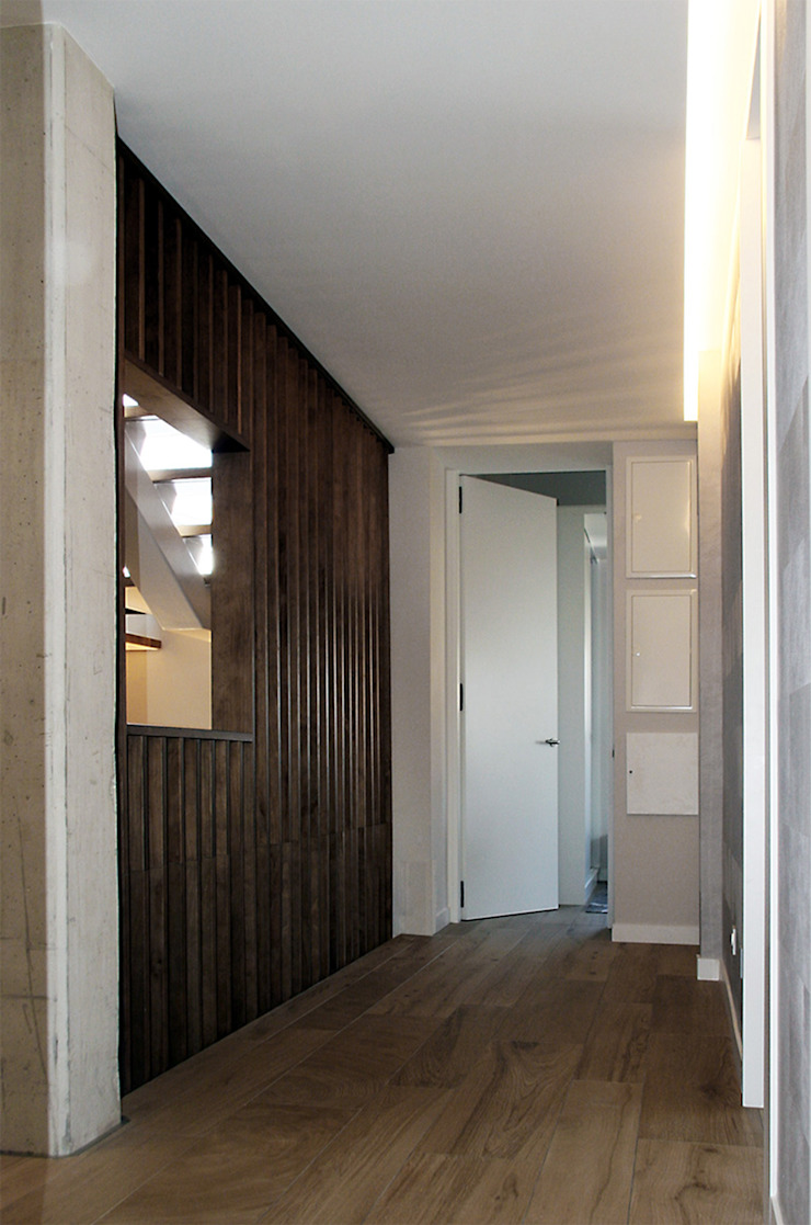 Couloir, entrée, escaliers classiques par Rafael Hernáez Loza AITEC Proyectos Classique