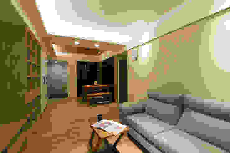 內壢詠藏社區住宅設計 根據 淳睦設計‧系統家具 北歐風