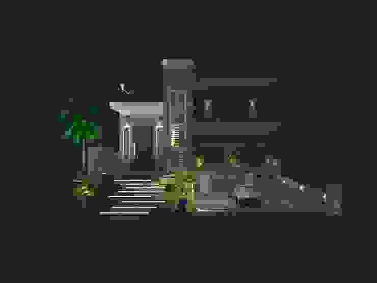 Casas modernas de AJR ARQUITETURA Moderno