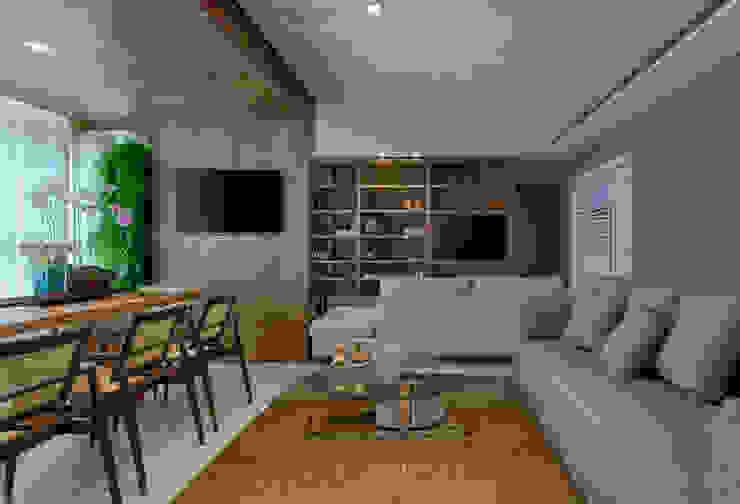 Modern living room by Escritório Fabiola Constantino Modern