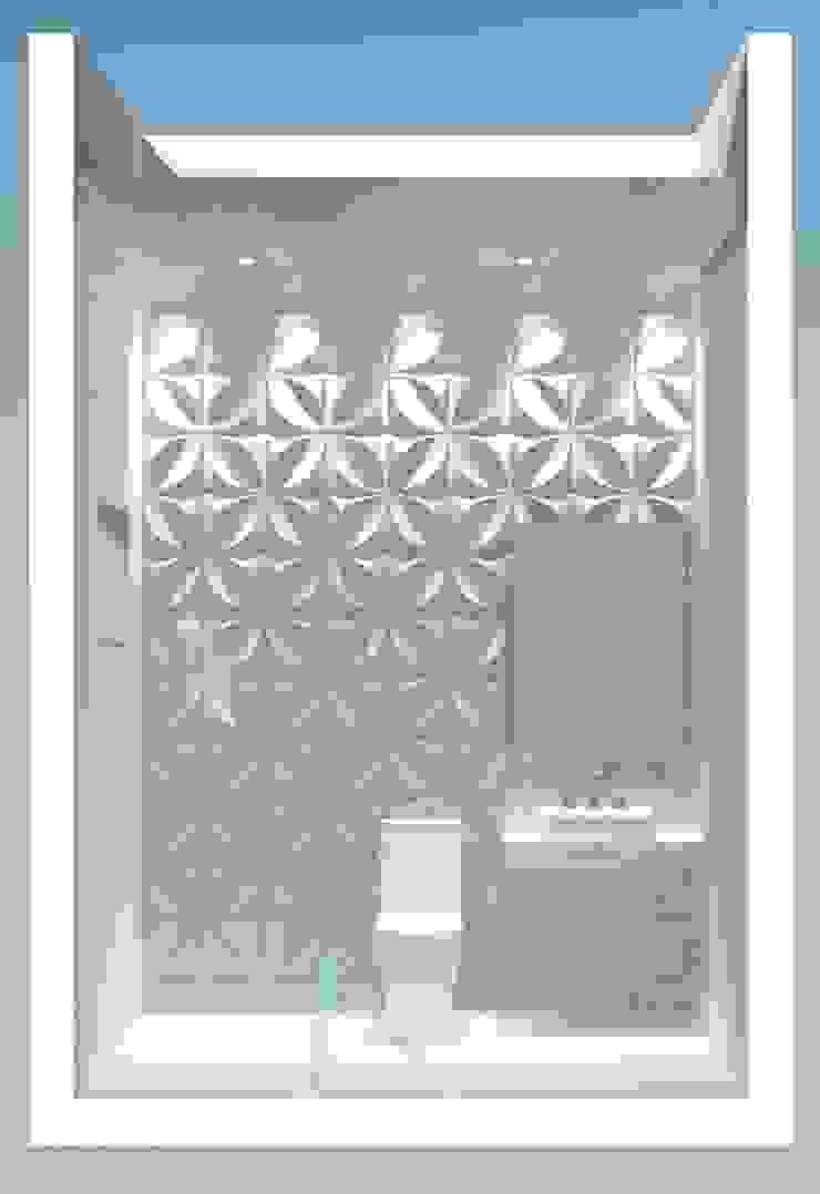 Baños modernos de AJR ARQUITETURA Moderno