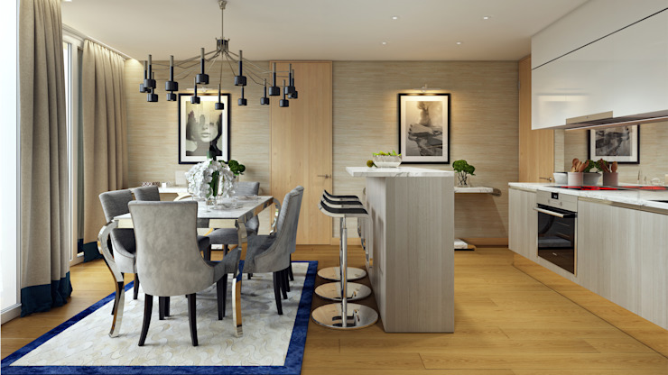 Dining Room من Hampstead Design Hub حداثي