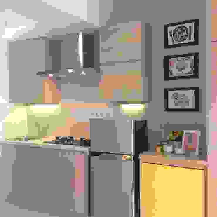 Studio Apartment – Park View Condominium Depok Dapur Modern Oleh RANAH Modern