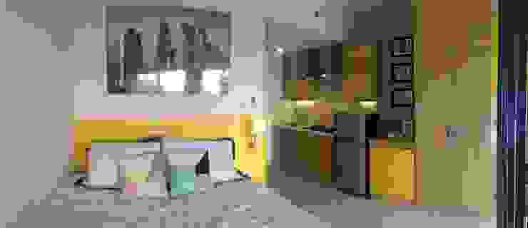 Studio Apartment – Park View Condominium Depok Kamar Tidur Modern Oleh RANAH Modern