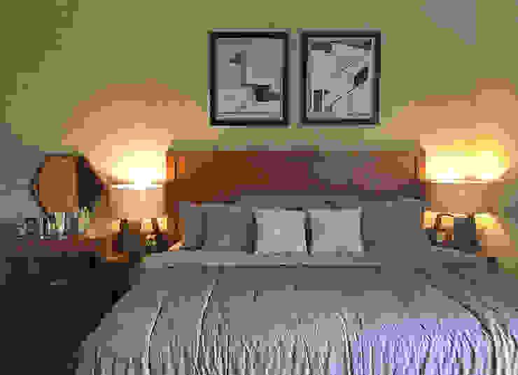 Interior Residential – Pomentia Residence Kamar Tidur Gaya Industrial Oleh RANAH Industrial
