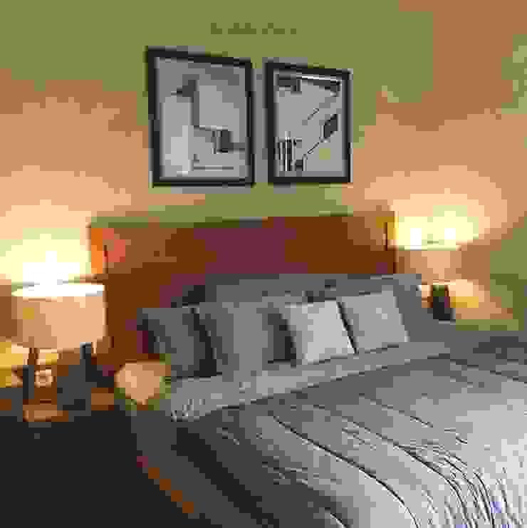 Dormitorios de estilo industrial de RANAH Industrial