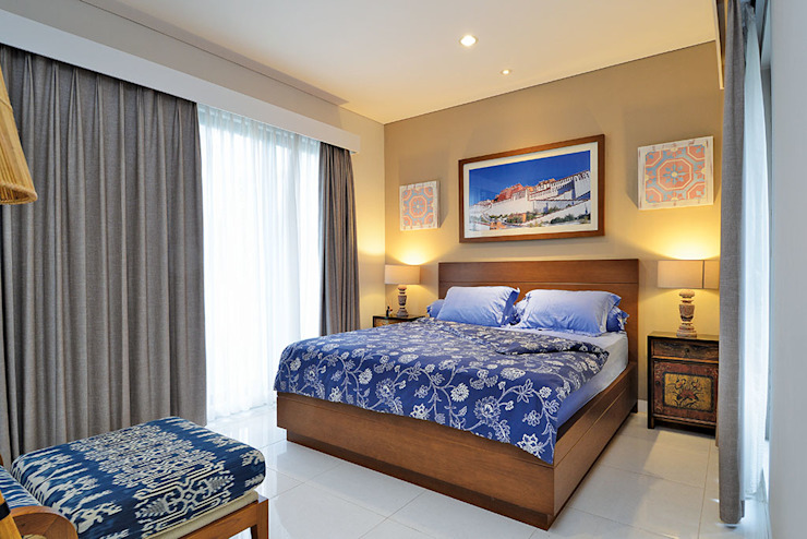 RANAH Eclectic style bedroom Blue