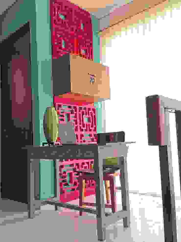 Interior Residential – Lanata 2 Residence Ruang Studi/Kantor Gaya Eklektik Oleh RANAH Eklektik