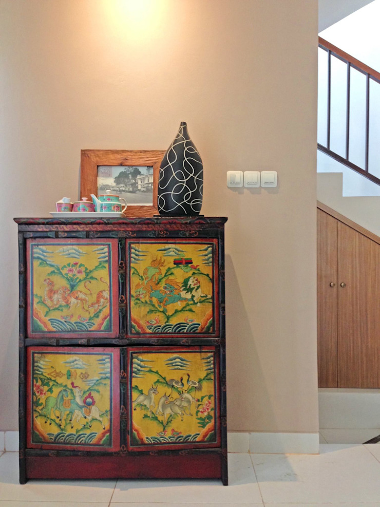 Interior Residential – Lanata 2 Residence Ruang Makan Gaya Eklektik Oleh RANAH Eklektik