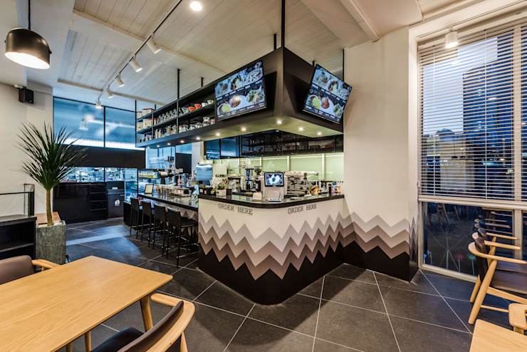 CAFE THE DEEP – BRUNCH & COFFEE (카페 더 딥) by 커스텀 디자인 랩 모던