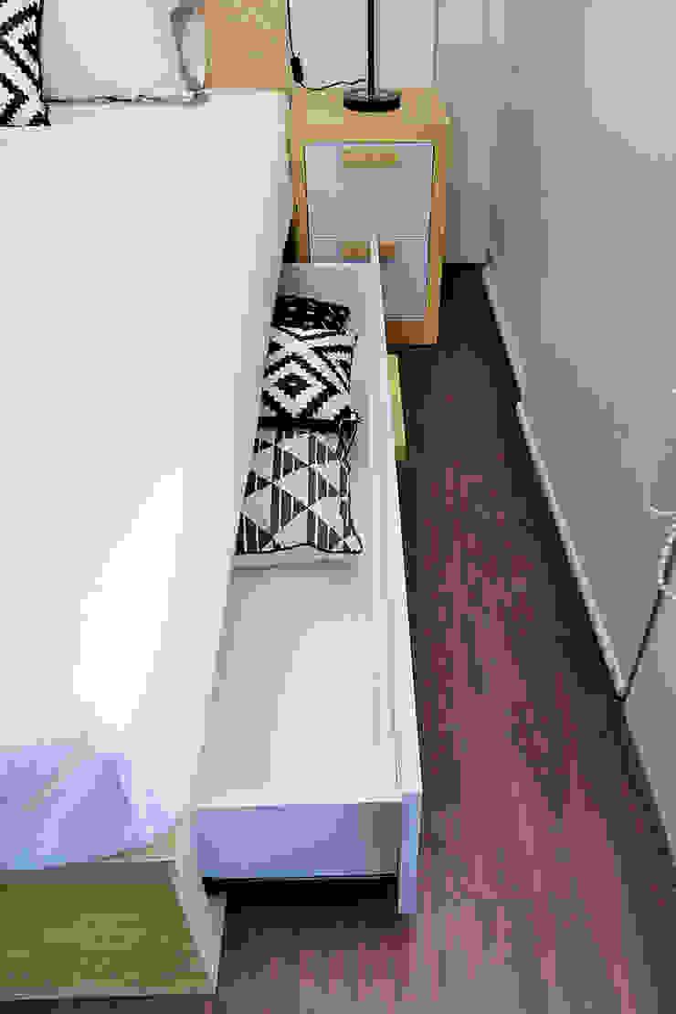 Studio Apartment – Bintaro Plaza Residence Kamar Tidur Gaya Skandinavia Oleh RANAH Skandinavia
