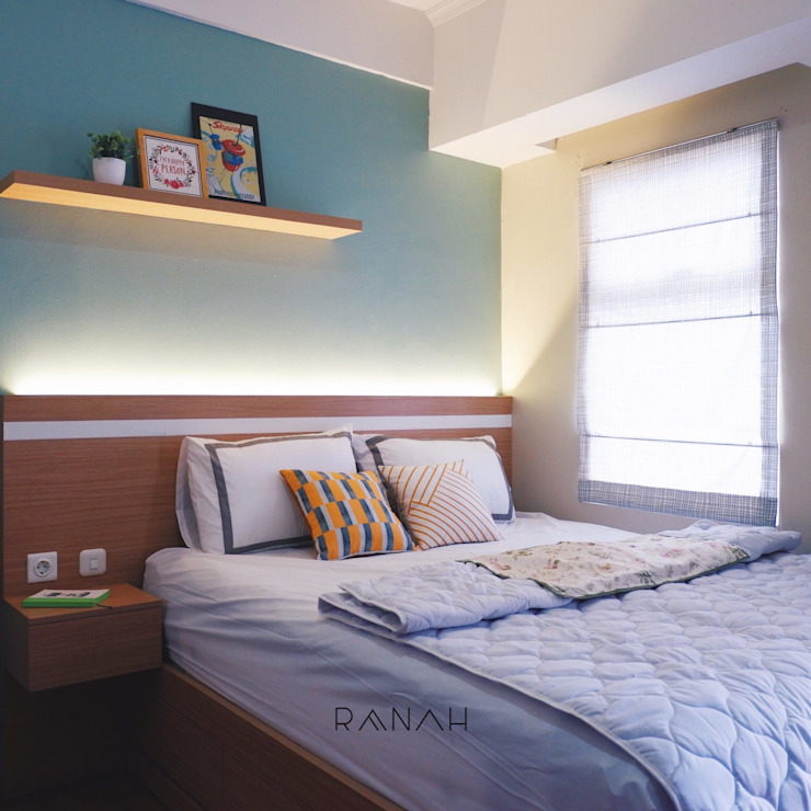 Modern style bedroom by RANAH Modern