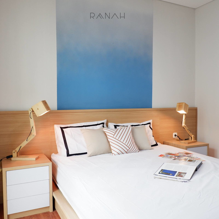 Studio Apartment - Woodland Park Kalibata Kamar Tidur Minimalis Oleh RANAH Minimalis