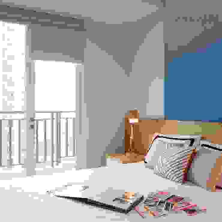 Studio Apartment – Woodland Park Kalibata Kamar Tidur Minimalis Oleh RANAH Minimalis
