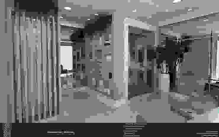 Pasillos, vestíbulos y escaleras de estilo moderno de Levolú Interiores e Arquitetura Moderno