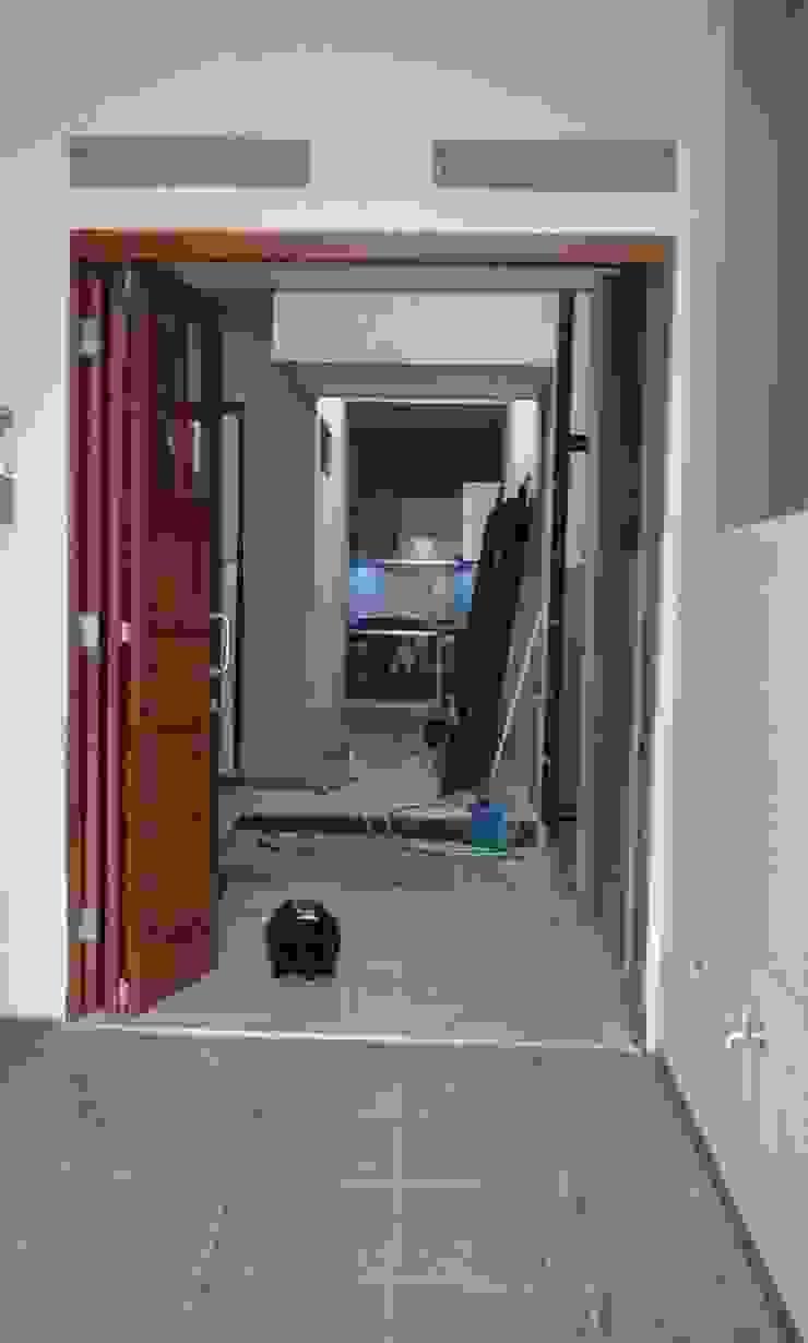foto sesudah, akses area servise Oleh Alfaiz Design